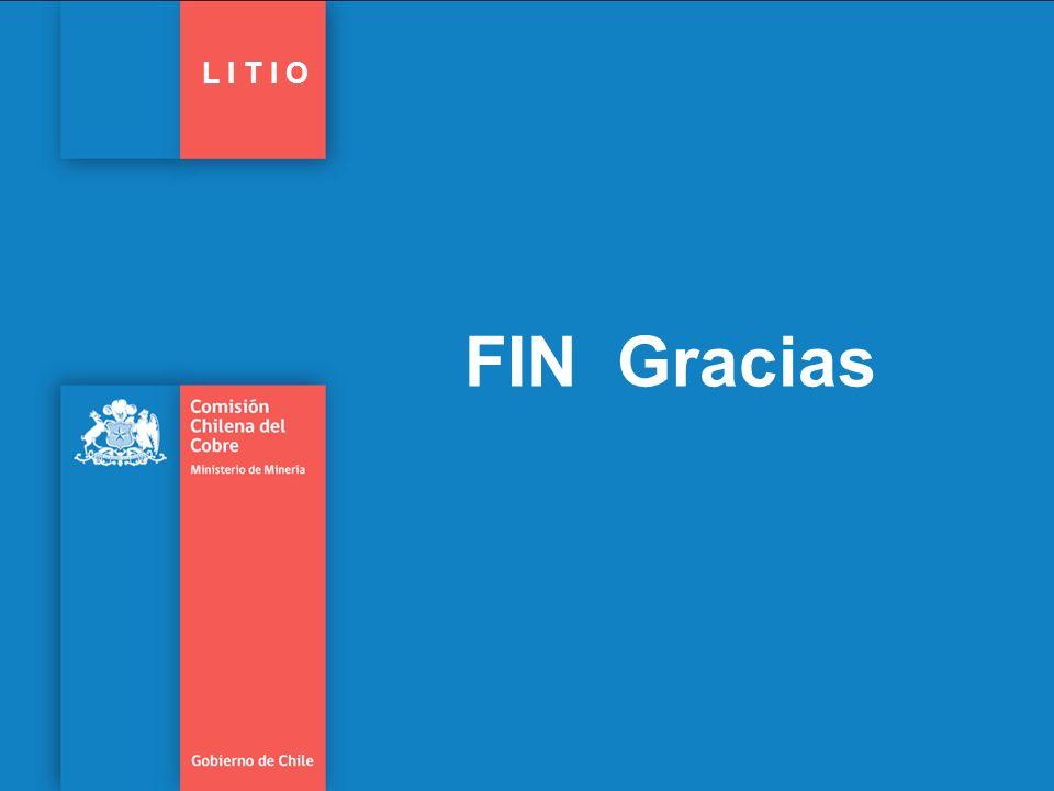 FIN Gracias L I T I O