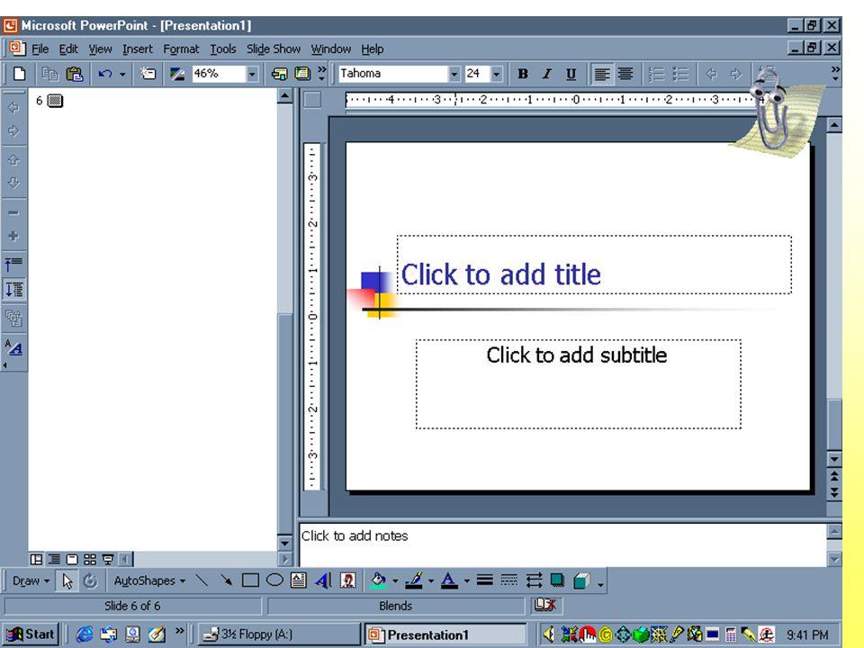 Conceptos Marcador de posición Cuadro vacío que contiene formatos preestablecidos de texto para facilitar la intro- ducción de texto. Clic to add titl