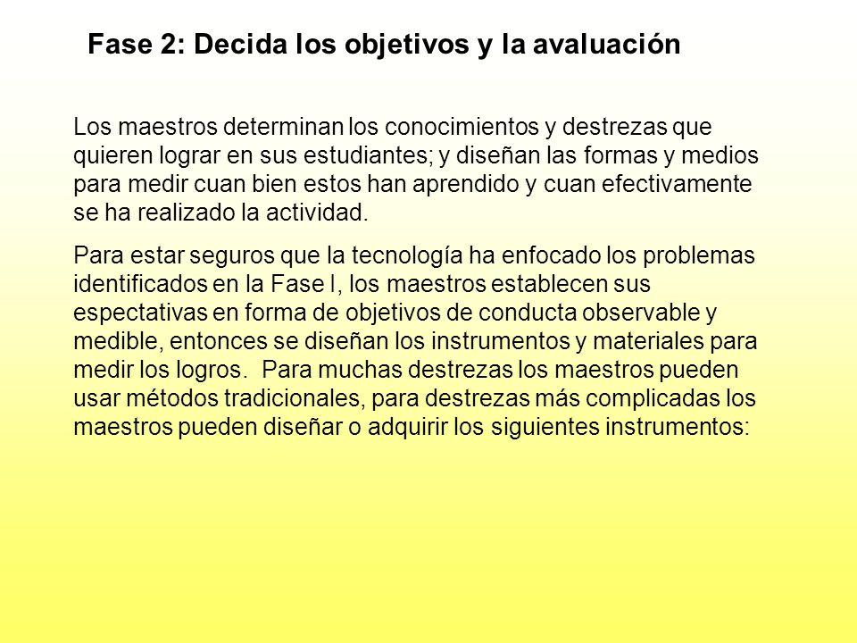Fase I: Determine Ventaja Relativa (Cont.) 2. Complejidad - Suficientemente fácil para los estudiantes aprender y hacerlo en unas bases frecuentes. Lo
