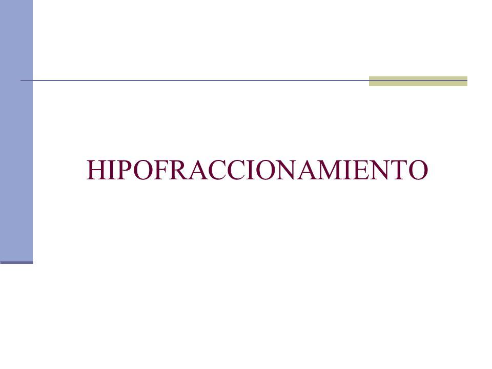 HIPOFRACCIONAMIENTO