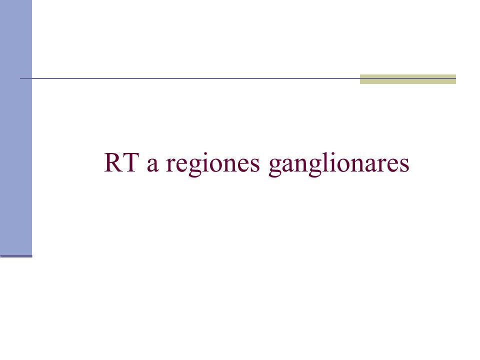 RT a regiones ganglionares