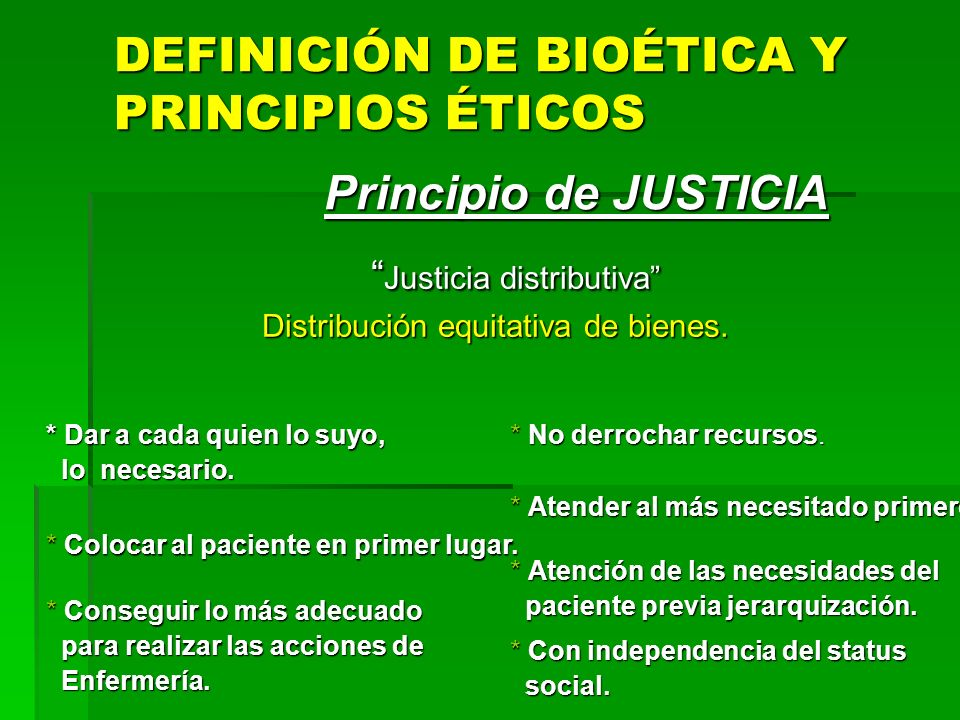 En resumen: el paciente tiene la principal autoridad ética y legal para establecer la relación médico/enfermo.