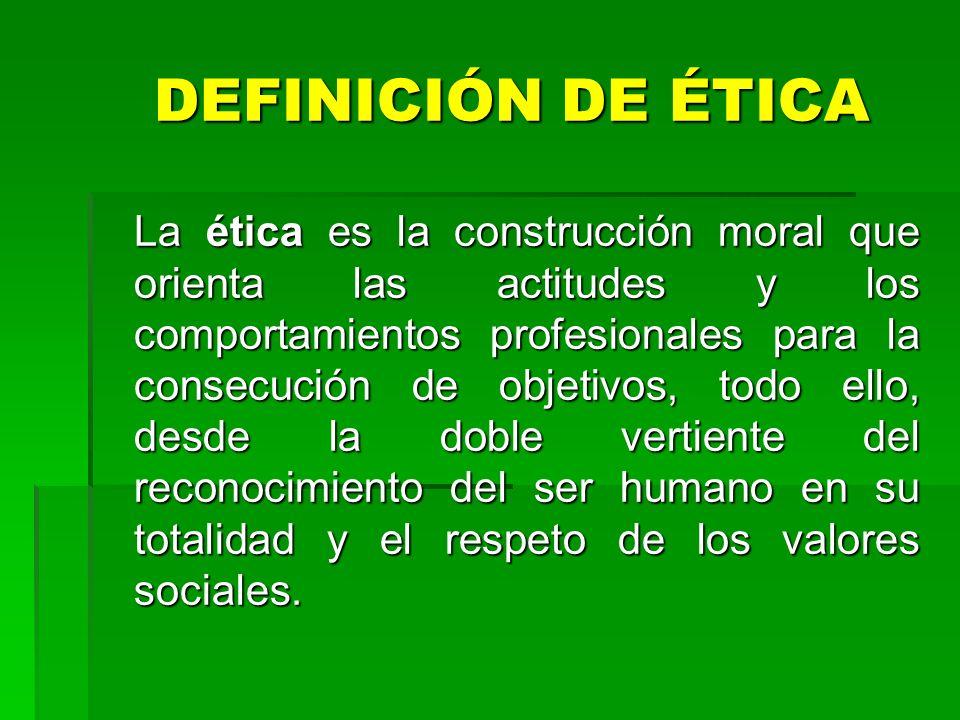 1.Aplicar el principio ético, fundante de respeto a la persona humana considerado en su dignidad y totalidad del individuo. O B J E T I V O S
