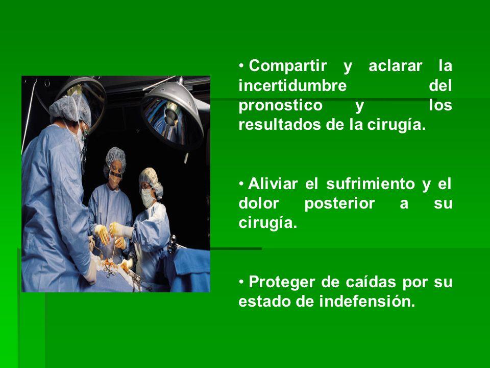 Verificar el funcionamiento de los aparatos electro médicos que contenga la sala de operaciones como: succión, iluminación, aporte de oxigeno, para as