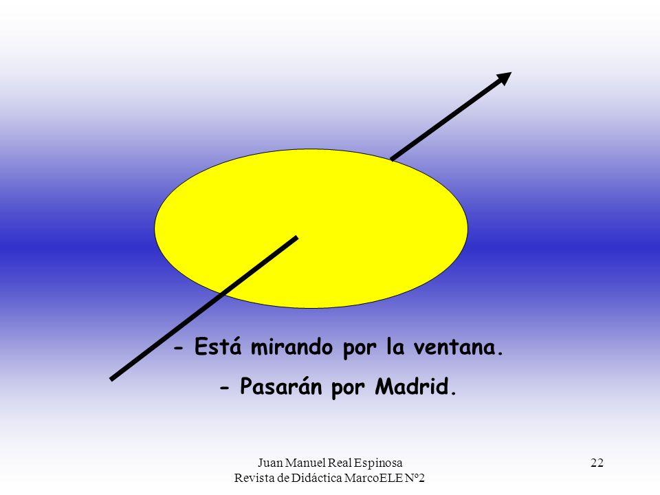 Juan Manuel Real Espinosa Revista de Didáctica MarcoELE Nº2 21 2.- El otro valor de por es expresar modos y formas de hacer las cosas: Unidos a nocion