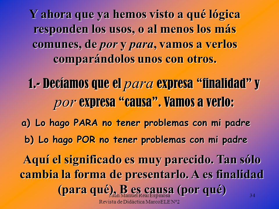 Juan Manuel Real Espinosa Revista de Didáctica MarcoELE Nº2 33 También expresa una actitud o adecuación a algo o alguien: - Tengo muy poca paciencia p