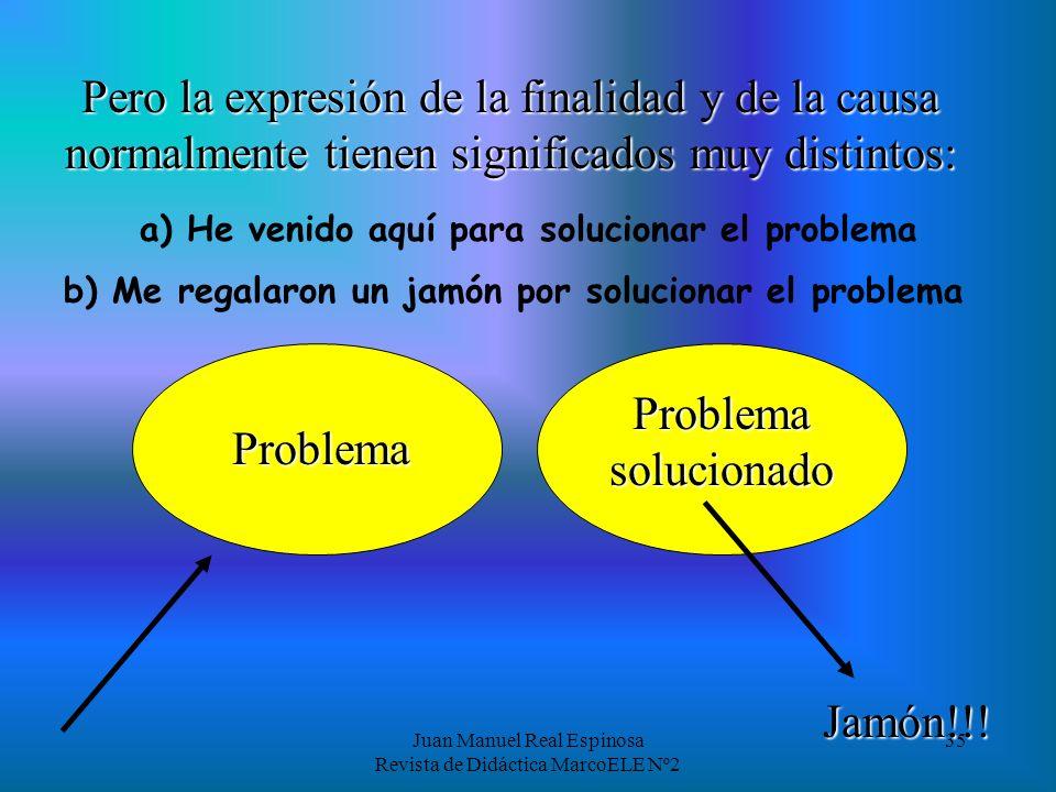 Juan Manuel Real Espinosa Revista de Didáctica MarcoELE Nº2 34 Y ahora que ya hemos visto a qué lógica responden los usos, o al menos los más comunes,