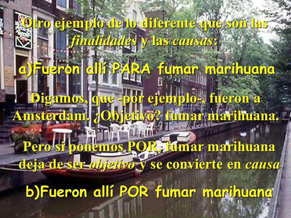 Juan Manuel Real Espinosa Revista de Didáctica MarcoELE Nº2 35 Pero la expresión de la finalidad y de la causa normalmente tienen significados muy dis