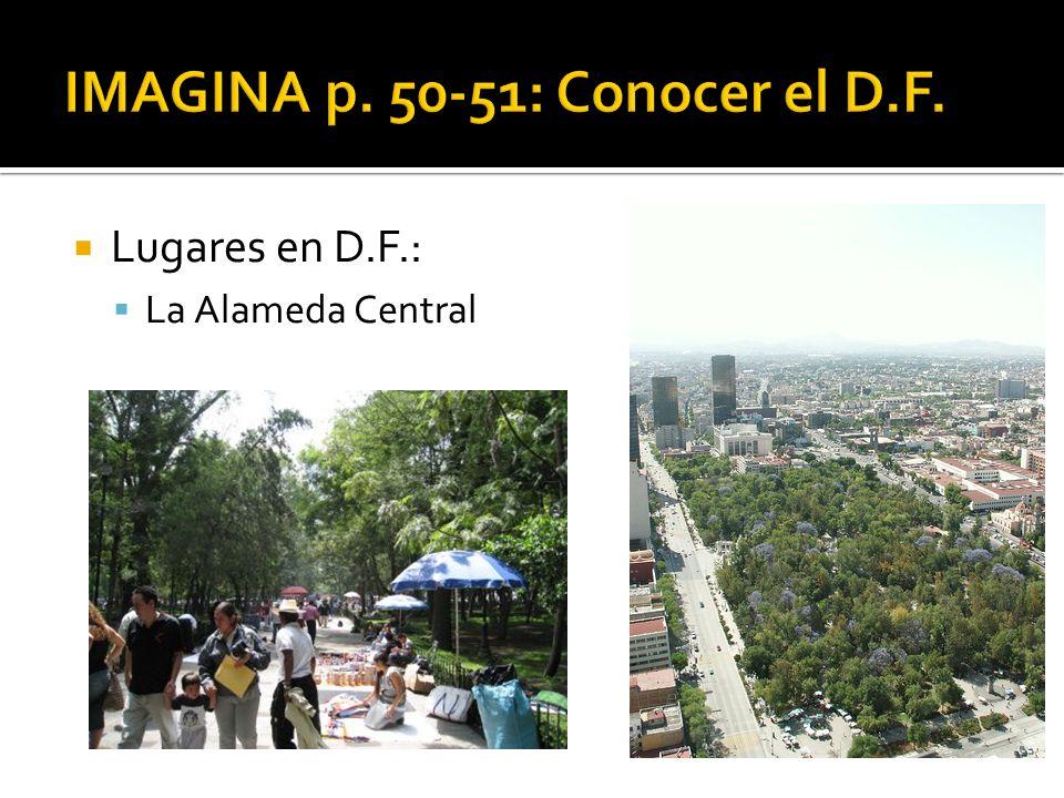 Lugares en D.F.: La Alameda Central