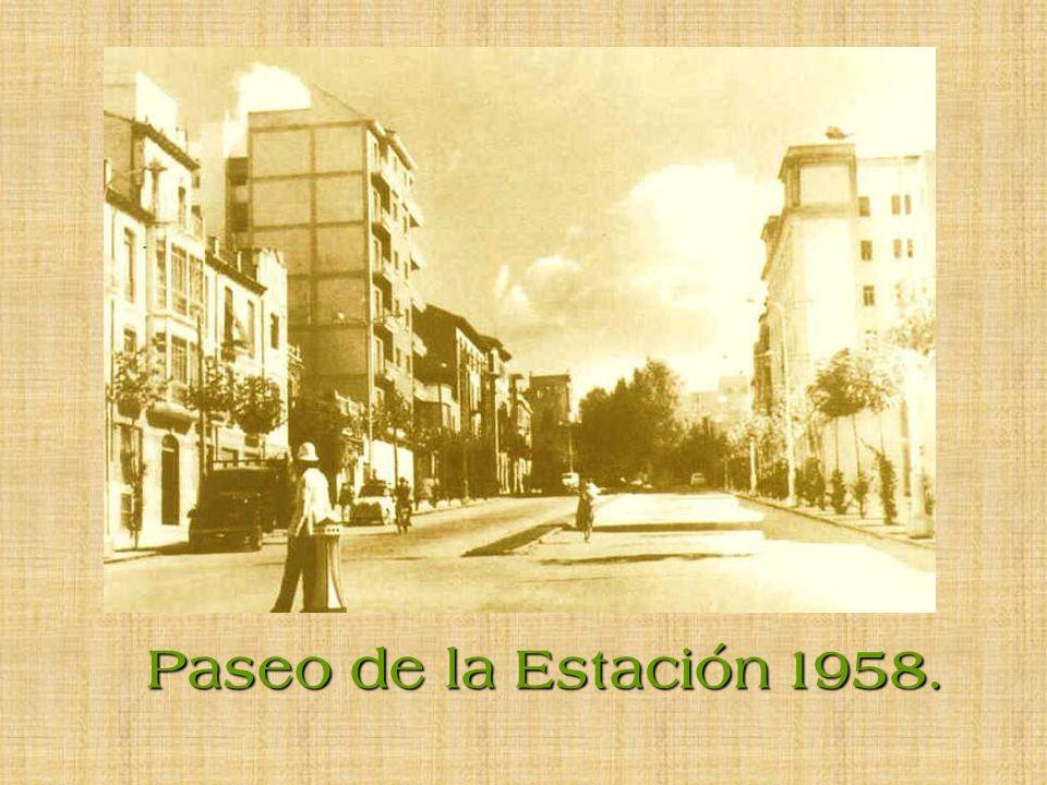 Paseo de la Estación 1958.