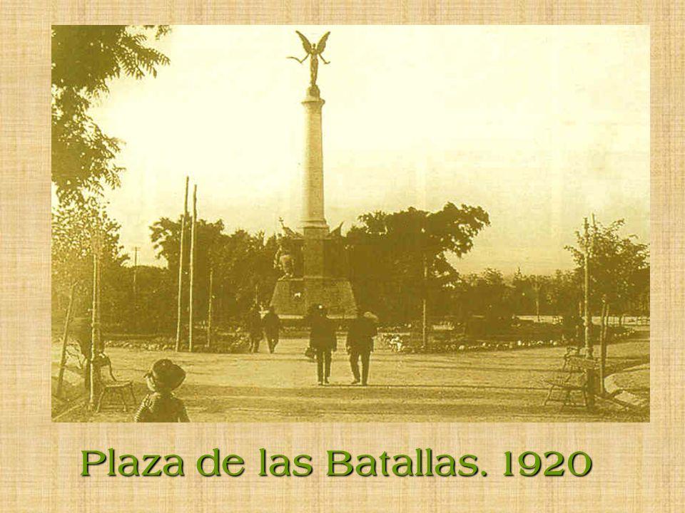 Plaza de las Batallas. 1920