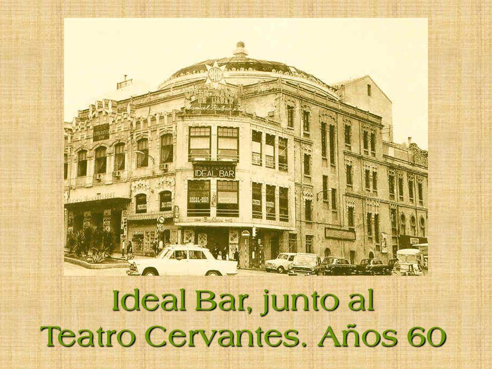 Cruce Parque de la Victoria con Avenida de Madrid. 1954