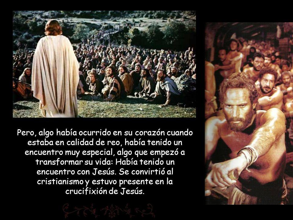 Pero, algo había ocurrido en su corazón cuando estaba en calidad de reo, había tenido un encuentro muy especial, algo que empezó a transformar su vida: Había tenido un encuentro con Jesús.