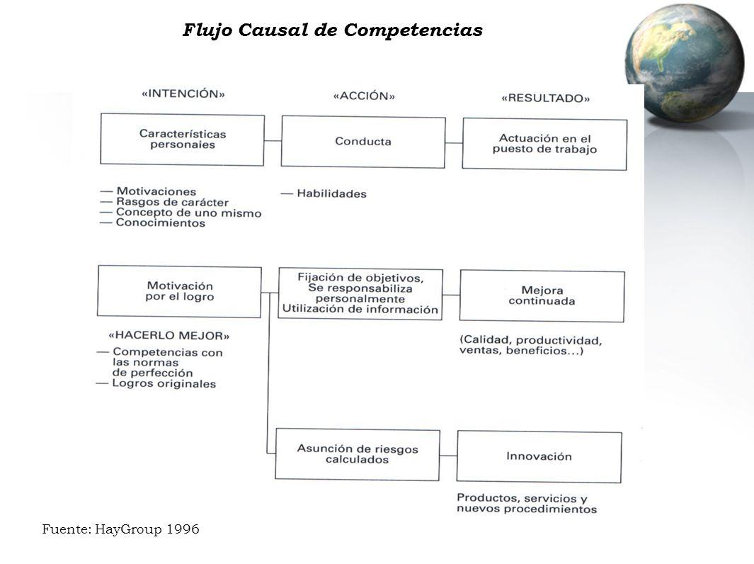 Flujo Causal de Competencias Fuente: HayGroup 1996