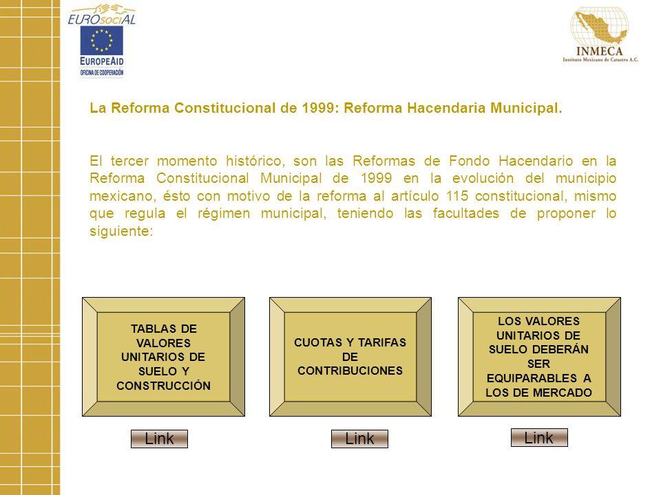 La Reforma Constitucional de 1999: Reforma Hacendaria Municipal.