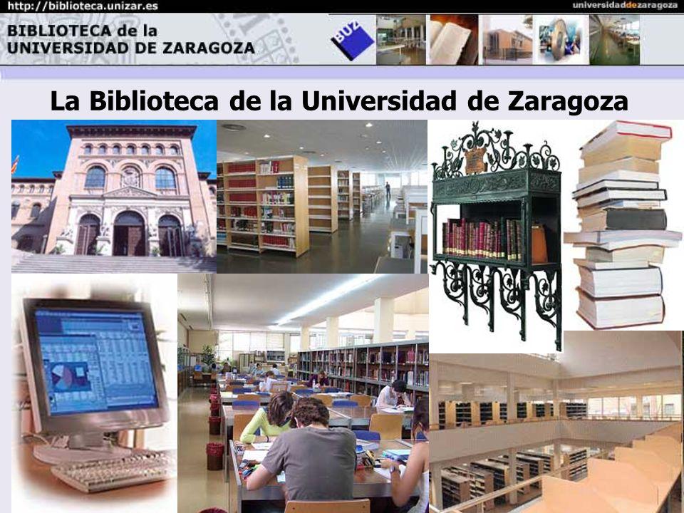 La Biblioteca de la Universidad de Zaragoza