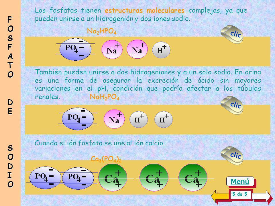Na 3 PO 4 3 Na + + 3 ( PO 4 3 - / 3 ) + En este dibujo que se presentó antes hay un MOL de fosfato de sodio, Es una solución 3 Normal ( 3N ) y contien