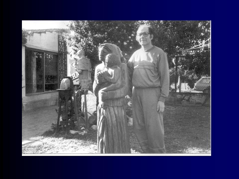 T ras haber recibido un amplio reconocimiento nacional e internacional merced a su actividad, en 1971 se unió a los seguidores de Gandhi y de la No Violencia.