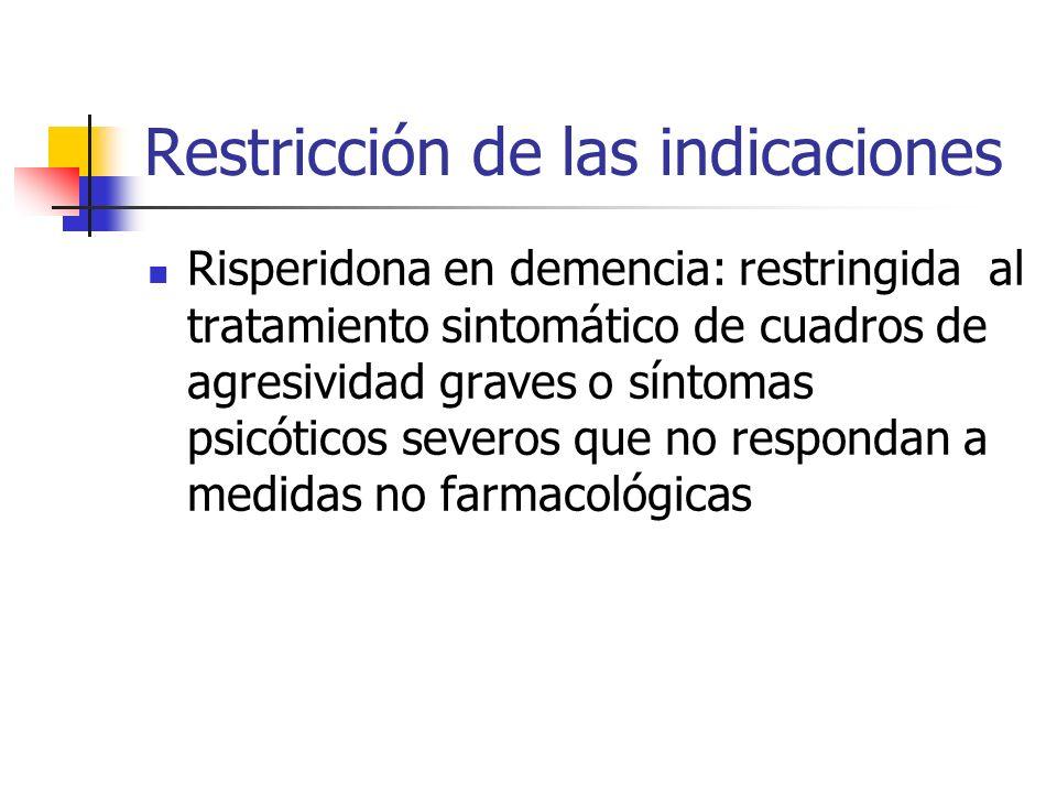 1º.Medidas administrativas de reducción del riesgo Aceptabilidad del riesgo Medidas reguladoras Riesgo aceptable en las condiciones de uso autorizadas