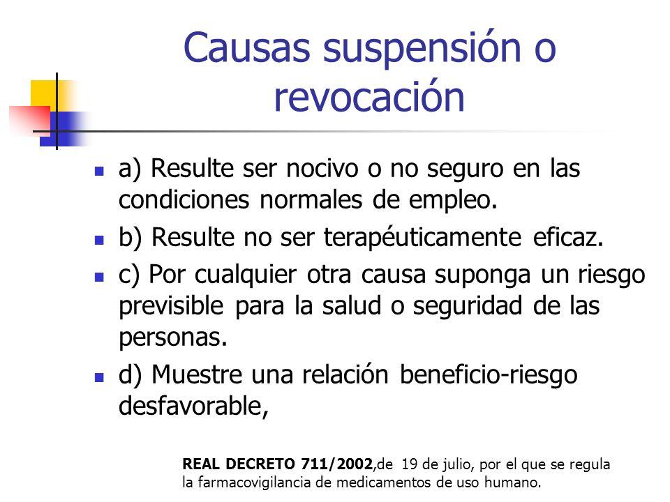 Restricción de presentaciones Anulación especialidades farmacéuticas infantiles publicitarias con AAS por el riesgo síndrome de Reye. Contraindicar la