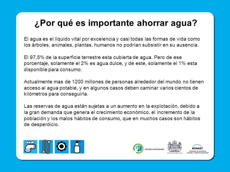 ¿Por qué es importante ahorrar agua? El agua es el líquido vital por excelencia y casi todas las formas de vida como los árboles, animales, plantas, h