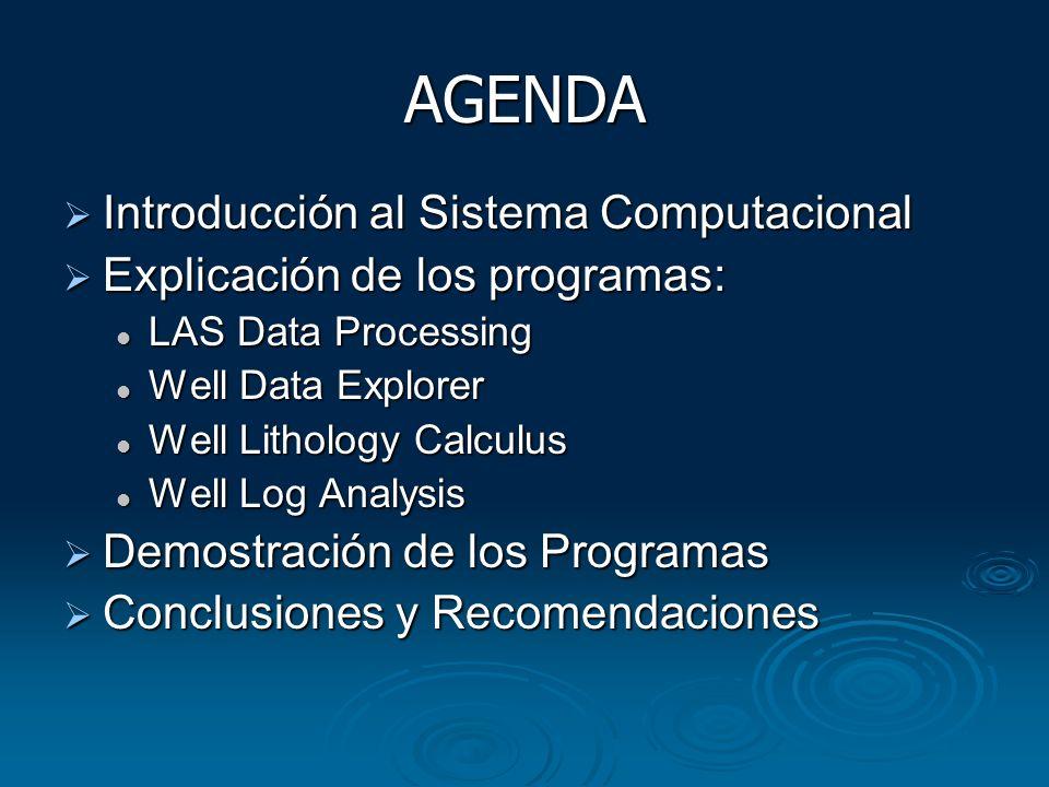 Características Principales Cada vez, el programa ejecuta 76 operaciones matemáticas para resolver el sistema de 4 ecuaciones.