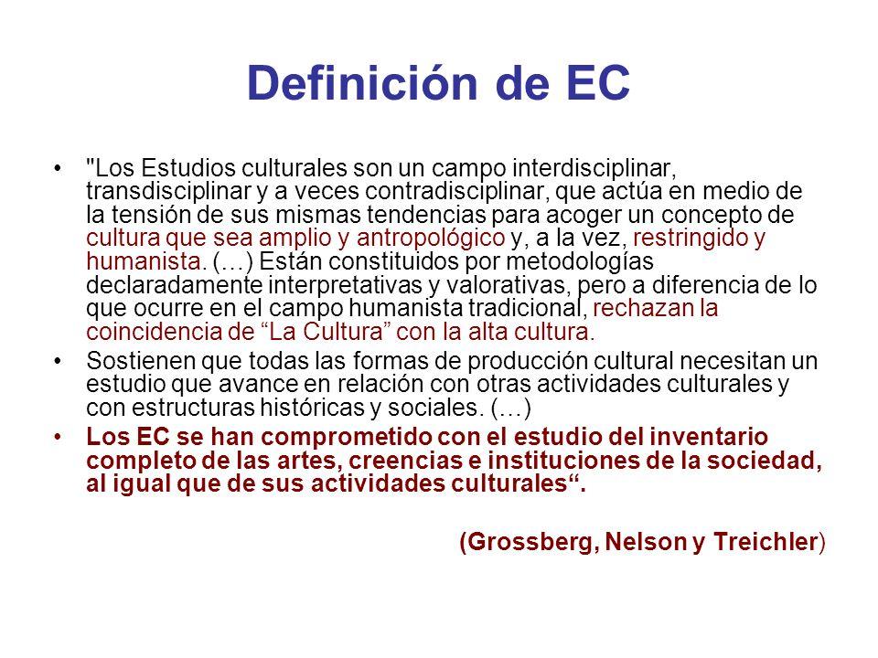 Definición de EC