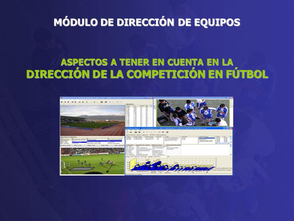 1.LA PREPARACIÓN DEL PARTIDO DE COMPETICIÓN.1.1. ANÁLISIS DEL RIVAL.