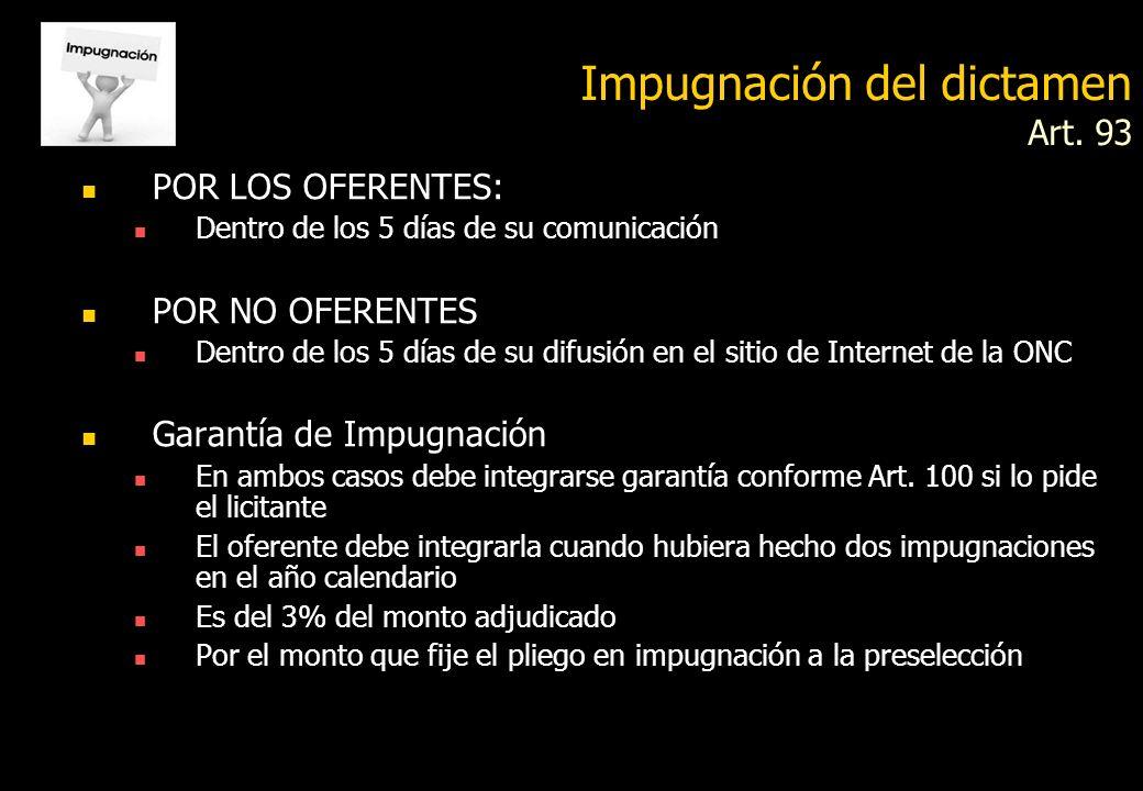 DESEMPATE Art. 90 En caso de igualdad de precios y calidad Normas sobre preferencias Si los renglones a desempatar no exceden de CINCO (5) MODULOS, se