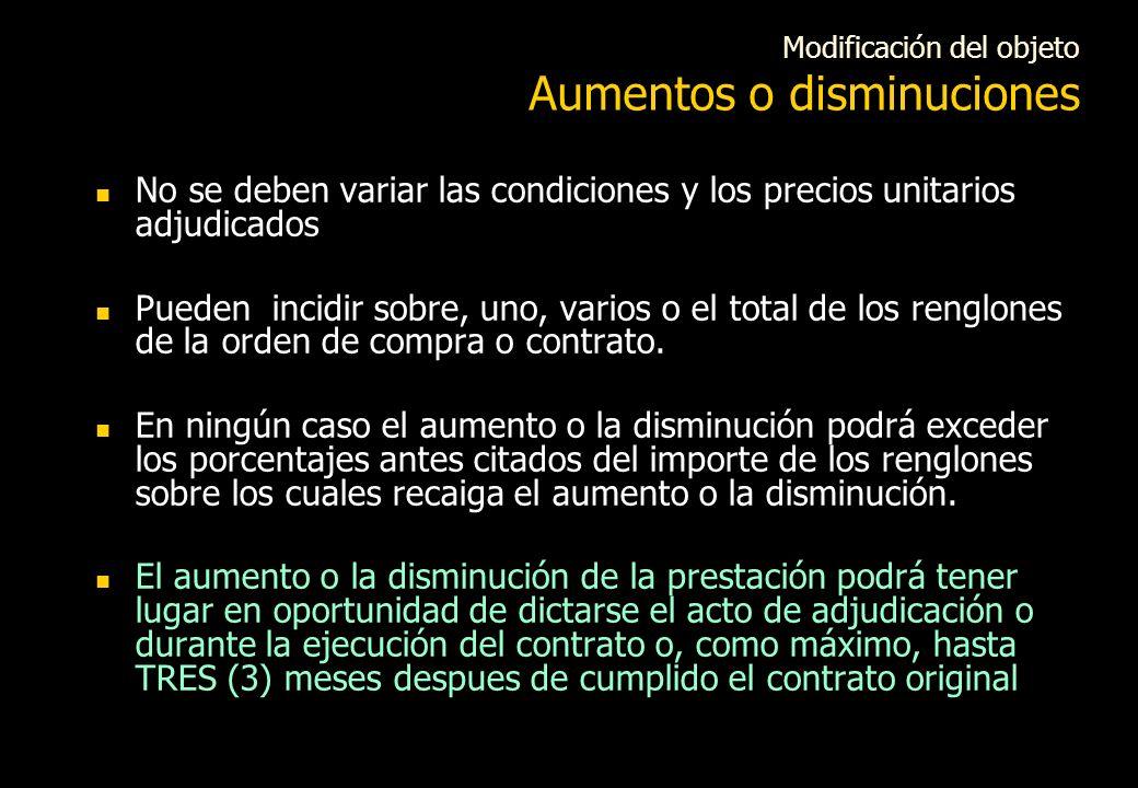 Ejecución del contrato Ius Variandi Mayor flexibilidad para el ejercicio del Ius Variandi Los contratos se podrán prorrogar aún cuando se hubieren amp