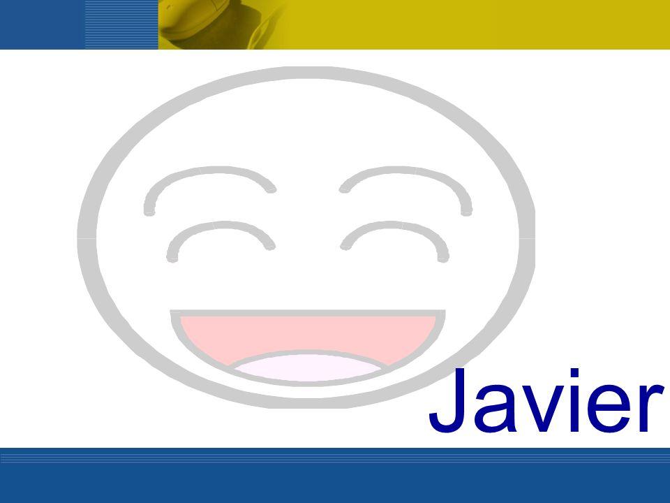 En casa de Javier… Sus padres han decidido poner un ordenador en el salón y un horario de utilización.
