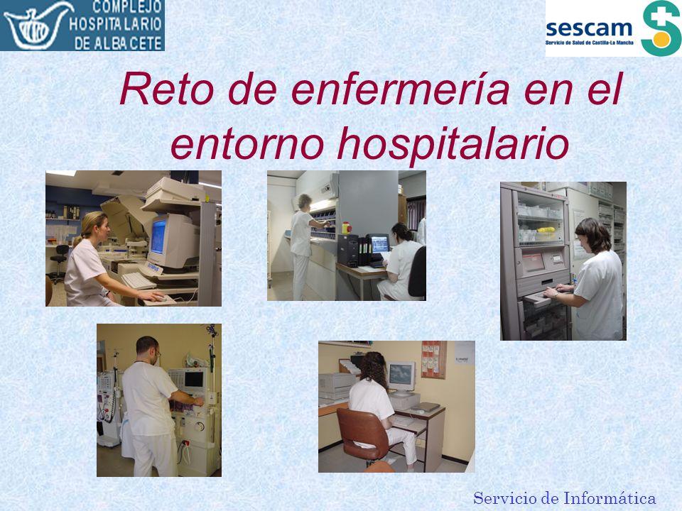 Servicio de Informática Reto de enfermería en el entorno hospitalario