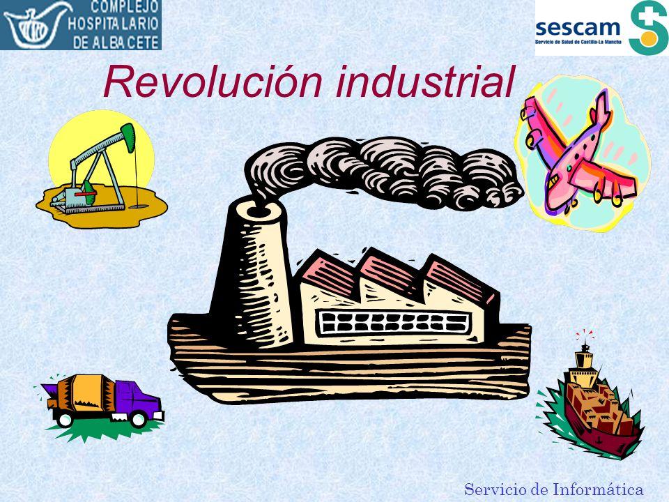 Servicio de Informática Revolución industrial