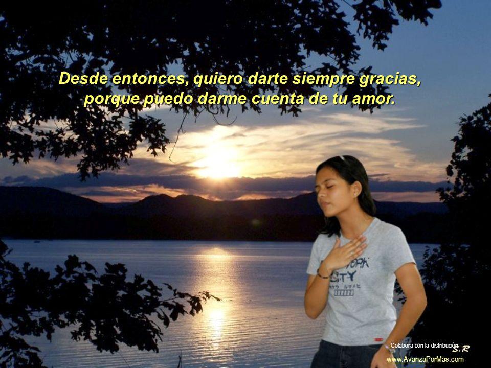 En la lluvia, en la tierra y el silencio, y en mis sueños cada noche estabas tú. Colabora con la distribución: www.AvanzaPorMas.com