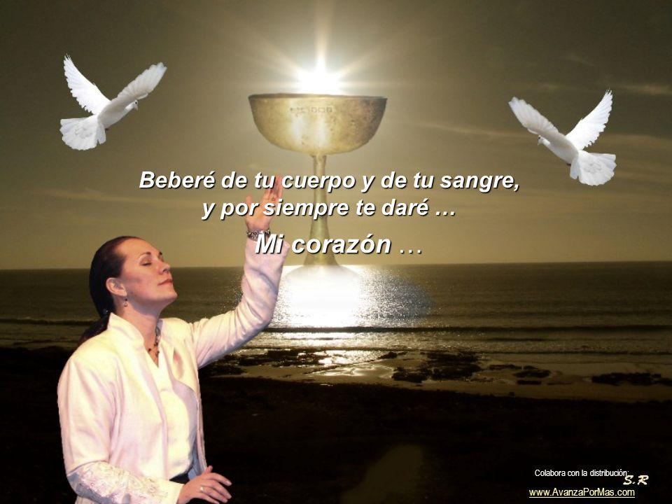 Desde entonces, quiero darte siempre gracias, porque puedo darme cuenta de tu amor. Colabora con la distribución: www.AvanzaPorMas.com