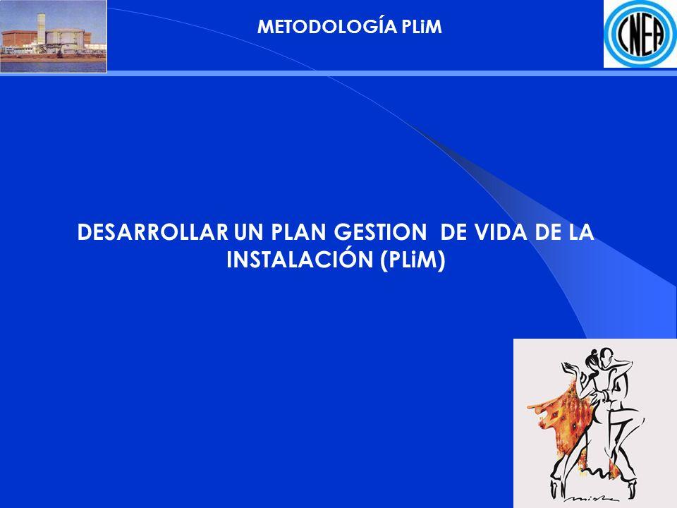 METODOLOGÍA PLiM DESARROLLAR UN PLAN GESTION DE VIDA DE LA INSTALACIÓN (PLiM)
