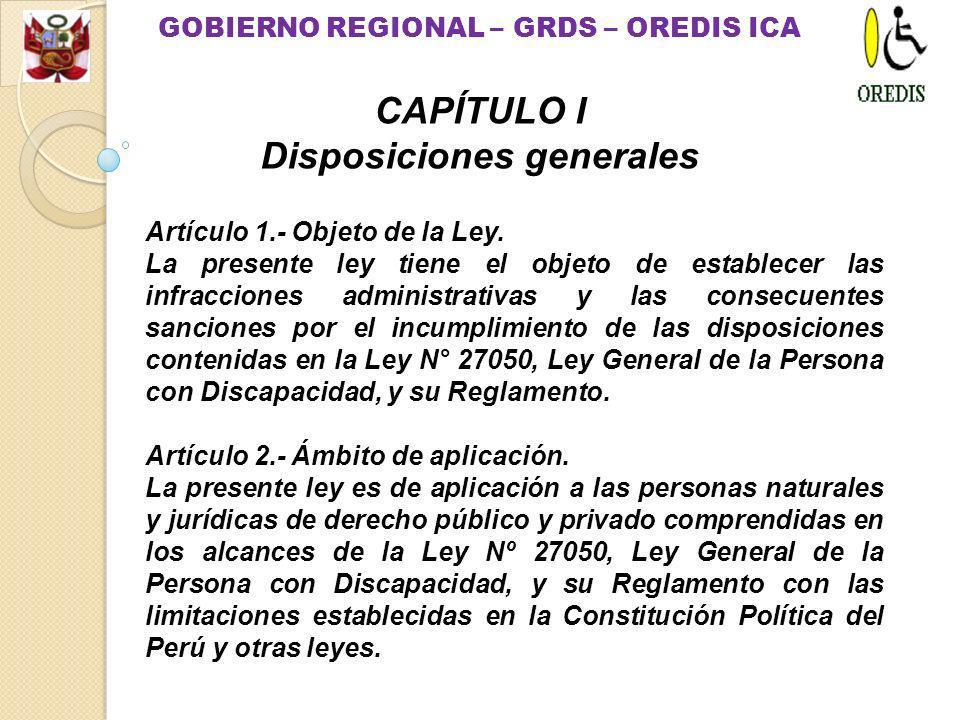Artículo 1.- Objeto de la Ley.