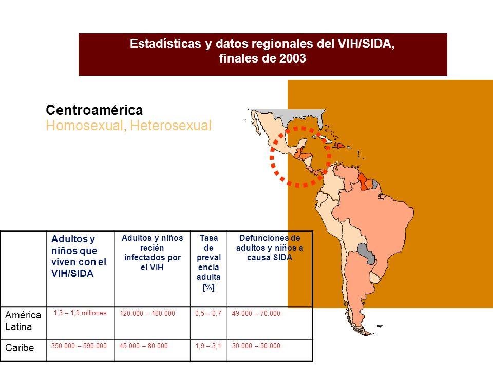 EMBARAZADAS SEROPOSITIVAS/CASOS/FALLECIDAS POR GRUPO DE EDAD Nicaragua, 1987 - Marzo 2004 Fuente: Programa Nacional de ITS/VIH/SIDA.