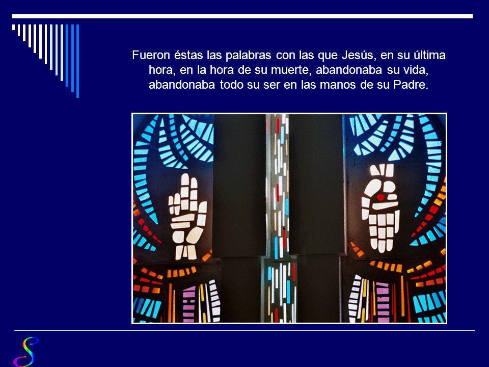 En tus manos pongo mi vida Poema : P. José Fernández MORATIEL O.P. Fotografías : Escuela del Silencio