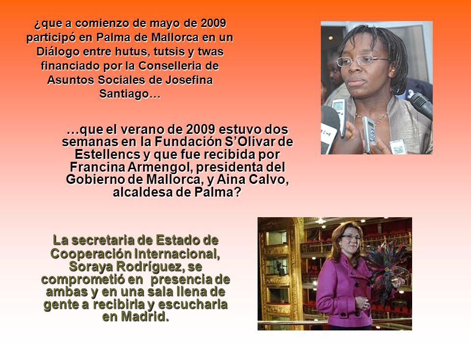 ¿Se acuerdan de ella, la mujer que casi toda la oposición ruandesa tenía por candidata a la presidencia de su país en las elecciones del pasado agosto