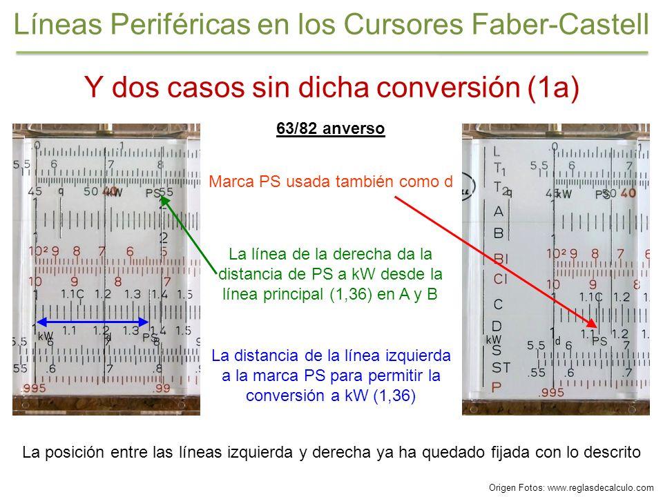 Y dos casos sin dicha conversión (1a) 63/82 anverso La posición entre las líneas izquierda y derecha ya ha quedado fijada con lo descrito La distancia