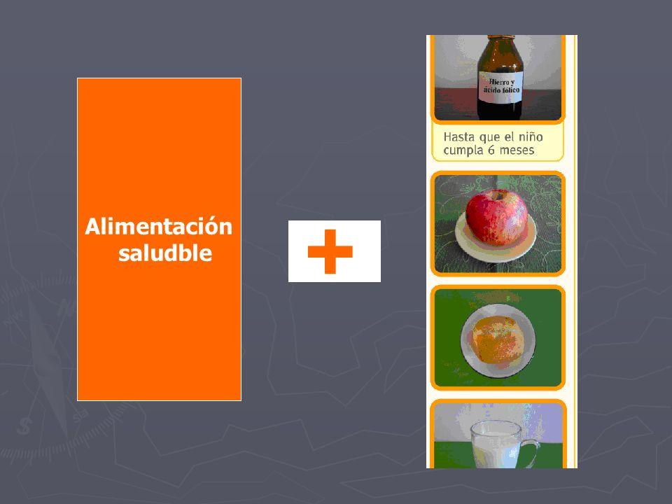 Alimentación saludble