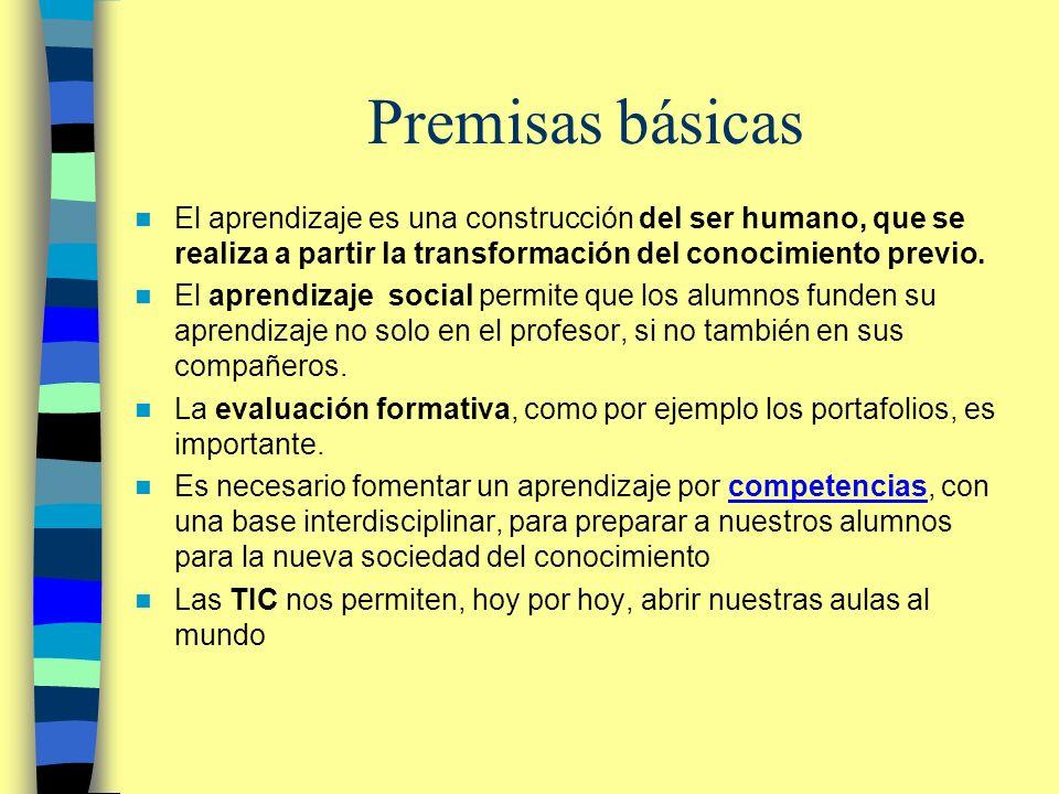 Las 8 Competencias clave según la UE –comunicación en lengua propia –comunicación en lenguas extranjeras –competencia matemática y competencias básicas en ciencia y tecnología –competencia digital –aprender a aprender –competencias interpersonales, interculturales y sociales y competencia cívica –espíritu de empresa –expresión cultural Recomendaciones del Parlamento y del Consejo sobre las competencias clave para el aprendizaje permanente http://ec.europa.eu/education/policies/2010/doc/keyrec_es.pdfcompetencias clave http://ec.europa.eu/education/policies/2010/doc/keyrec_es.pdf