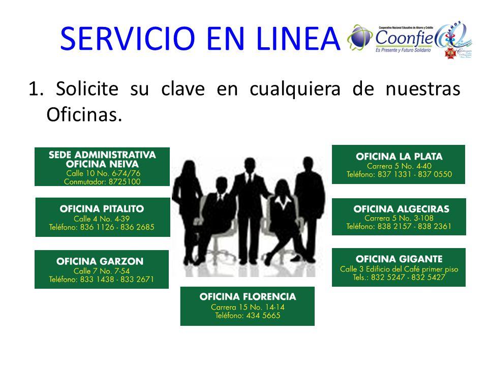 SERVICIO EN LINEA 2.