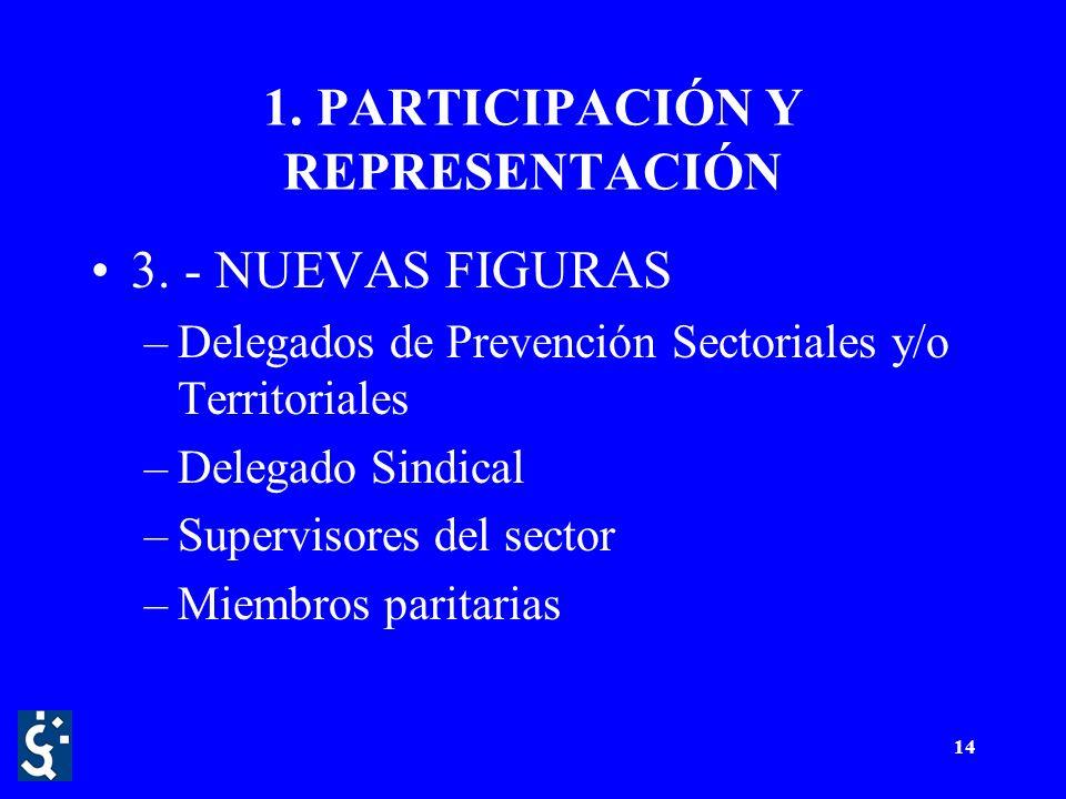 14 1. PARTICIPACIÓN Y REPRESENTACIÓN 3.
