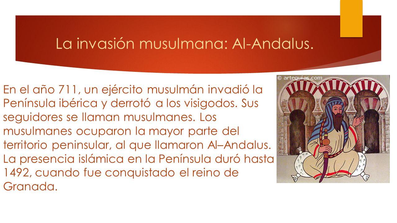 Los visigodos conquistaron Hispania. A principios del siglo VI los visigodos se instalaron en Hispania. Su reinado perduró durante doscientos años, un