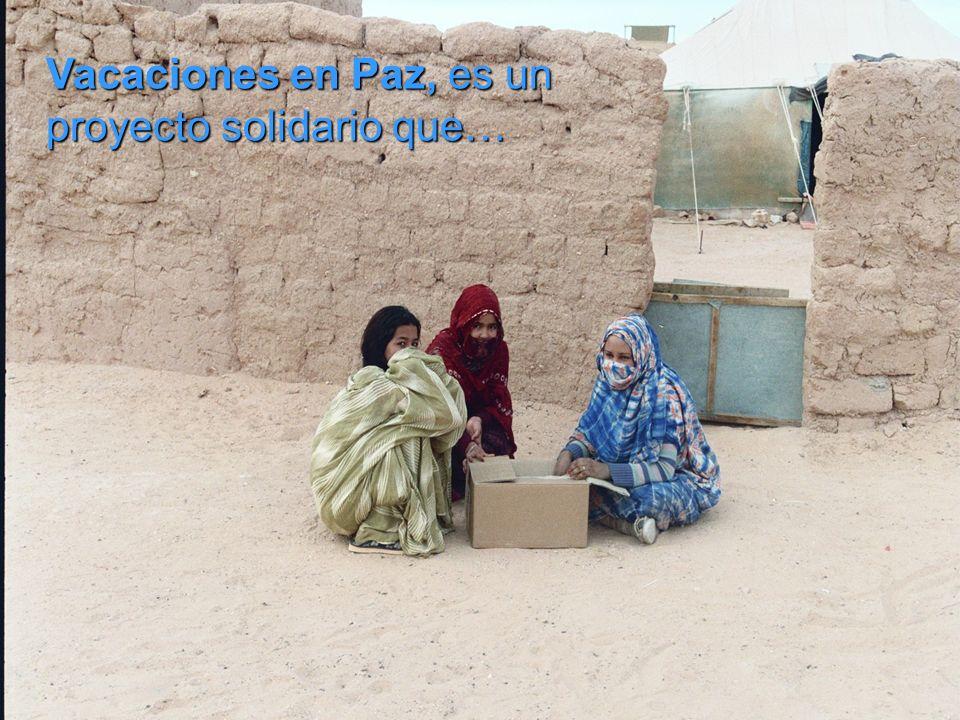 Se ha visto obligado a vivir durante más de 30 años en un desierto inhóspito, refugiados en campamentos situados en Argelia, siendo en este medio dond