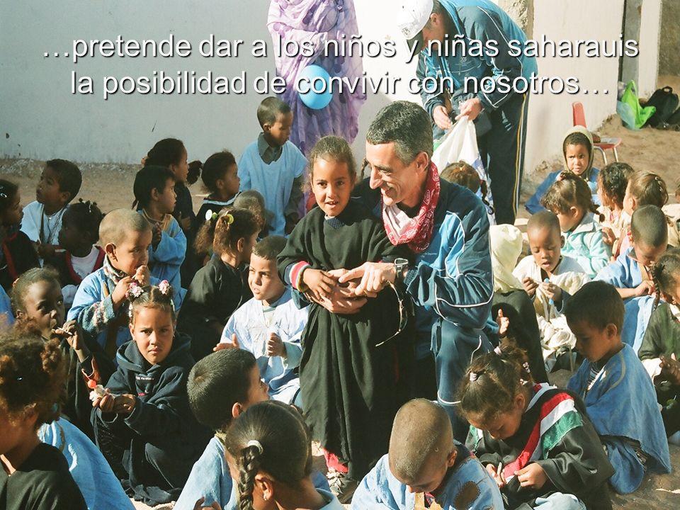 Vacaciones en Paz, es un proyecto solidario que…