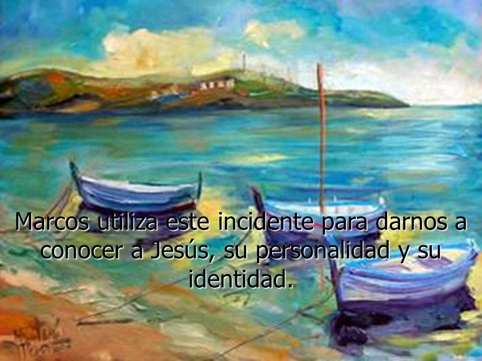 Jesús se levantó, dio una orden al viento y le dijo al mar: ¡Silencio.