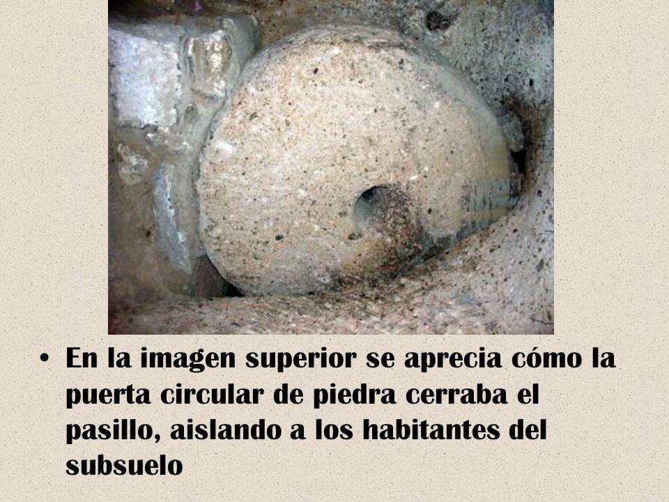 Además, Derinkuyu tiene un túnel de casi 8 kilómetros de largo que conduce a otra ciudad subterránea de Capadocia, Kaymakl?.